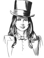 Zatanna headshot by pdLondon