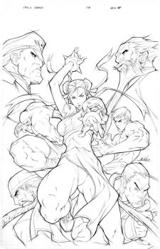 Street Fighter: ChunLi Legends by alvinlee