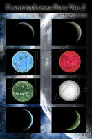 Planets and Lunas Pack Vol 2 by neverness
