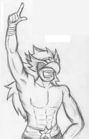 Rough Sketch - Rawk The Hawk by r0zuz0r