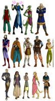 TES characters by ankalime