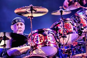 Rush:  Neil Peart I by basseca