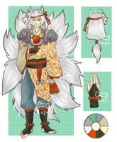 Adopt Auction-Kitsune [CLOSED] by LupoGreen