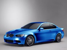 BMW 3 M Coupe Cosworth #blue by TeofiloDesign