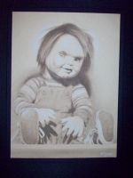chucky childs play by charcoalking77
