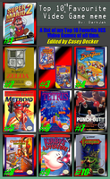 My Top 10 Favorite NES Games by CaseyDecker