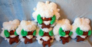 Whimsicott horde XD (up for sale) by Rens-twin