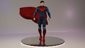 Injustice [GAU]: Superman New 52 [Trophy/Figure] by Mike92evil92