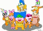 The Koopalings by Culumon by Koopaling-club