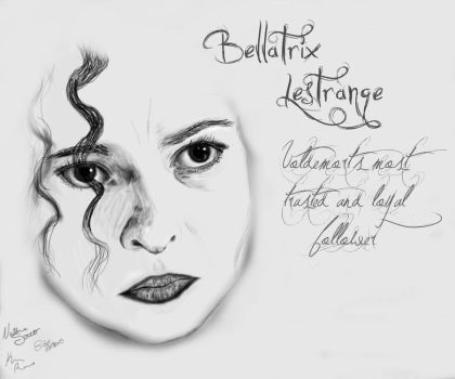 Bellatrix Lestrange by LikeAPuzzle