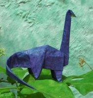 Brontosaurus by Figuer