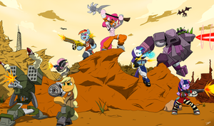 MLP Borderlands by Slypon