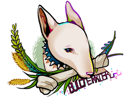 Bullterrier by Byam