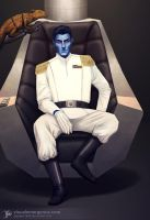 Grand Admiral Thrawn by JayceJvR1992