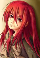 Shana Fan Art - Semi Real by MikePaulWhite
