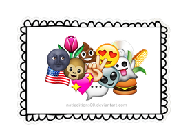 + All My Emojis! (png's) by natieditions00