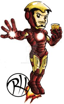 Chibi Ironman by pipetp