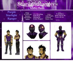 Purple Starlight Ranger by HighwindDesign