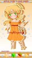 Christas Dessert Sale: Apple Cider Angel by SeraphEnigma23