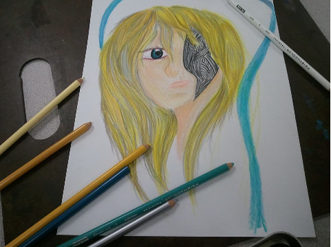 colored pencils by last1dogdemon