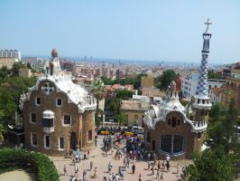 Park guell by art-is-a-dream