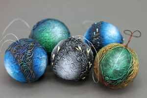 Christmas balls 2015 by hontor
