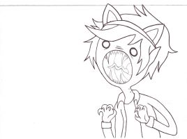 Neko Marshall Lee by aleprettycat