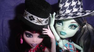 Monster High Doll Sized Fedoras by Twig321