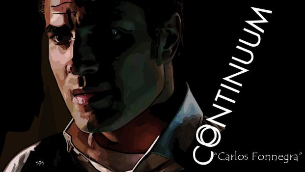 Continuum-Character-Carlos (Victor Webster) by NobleDead