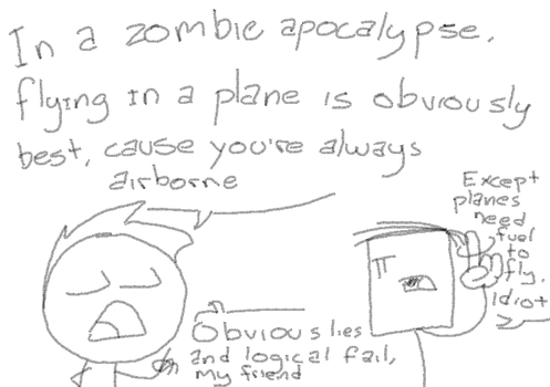 Planes And Zombies by Eplamauk