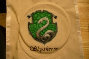 Syltherin House Badge by Scienceandart