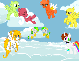 Pony collab thingy C: by ThaMutt