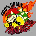 Bowser-the original final boss by Silver-the-kid