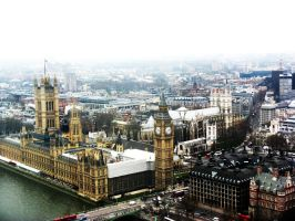 A view from the London Eye by AlexTheBeetle