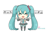 free: Miku pagedoll by Bunnymee