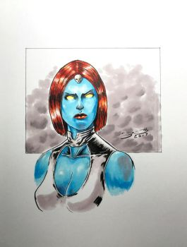 Mystique by shaotemp