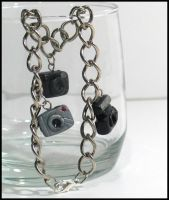 Digital Camera Charm Bracelet by chat-noir