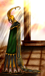 The God of Mischief by aganox