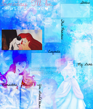 Ariel Layout by Lovely-Lily1997