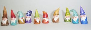 new NOM gnomes by merwing