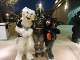 A tauntaun, Boba, and a Krampus walk into a bar... by Grizzled-Dog