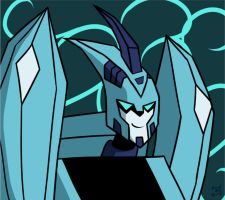 Another Blurr by InvaderZaff