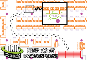 Ionic Comics at Dragon*Con! by annieawesomesauce