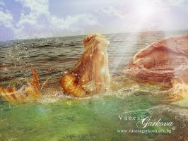 Mermaid world by vanesagarkova