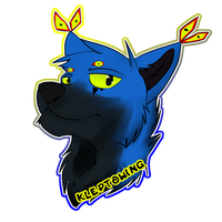 Kleptowing badge by Obsidianthewolf