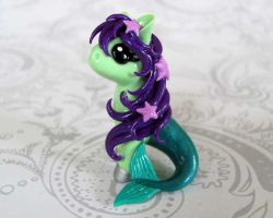 Mermaid Pony by DragonsAndBeasties