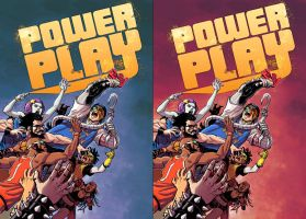 Power Play 3 covers by ReillyBrown