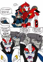 TFP: Doc Knock and Arcee II by xero87