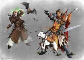 Pathfinder - Animal Companions by TimKings-Lynne