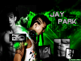 [WALLPAPER] Jay Park ''Check out'' by Rainb0wMiLLi